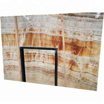 Home Indoor Wall Decoration Colorful Natural Onyx Stone