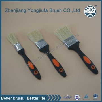 plastic  handle craft paint brushes