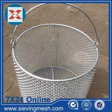 High Quality Industrial Factory for China Storage Basket,Metal Wire Baskets,Wire Mesh Baskets ,Small Wire Baskets Manufacturer Stainless Steel Wire Mesh Basket supply to Cape Verde Importers