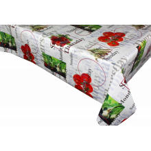 Pvc Printed fitted table covers Christmas