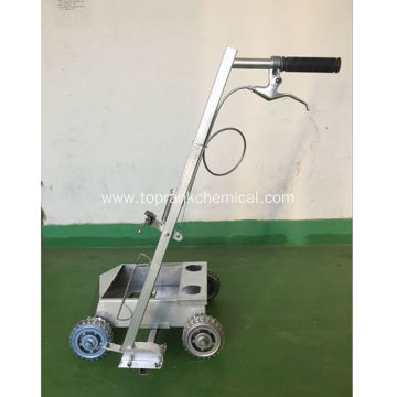 hand push road marking paint machine