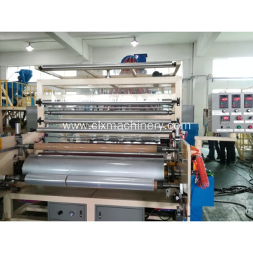 Cast Wrapping Film Extruder Machine For Packaging