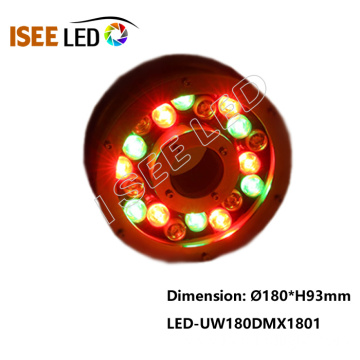 Best Selling IP68 DMX RGB LED Underwater Light