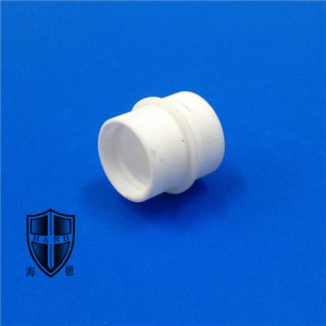 Best Quality for Offer Machinable Glass Ceramic Structure Parts,Machinable Ceramic Insulator,Industrial Ceramic From China Manufacturer machinbale cercor glass ceramic bushing sleeve export to South Korea Manufacturer