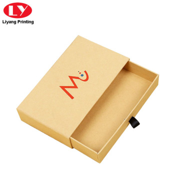 Suaicheantas Custom Printed Cardboard Kraft Drawer Boxing Packaging