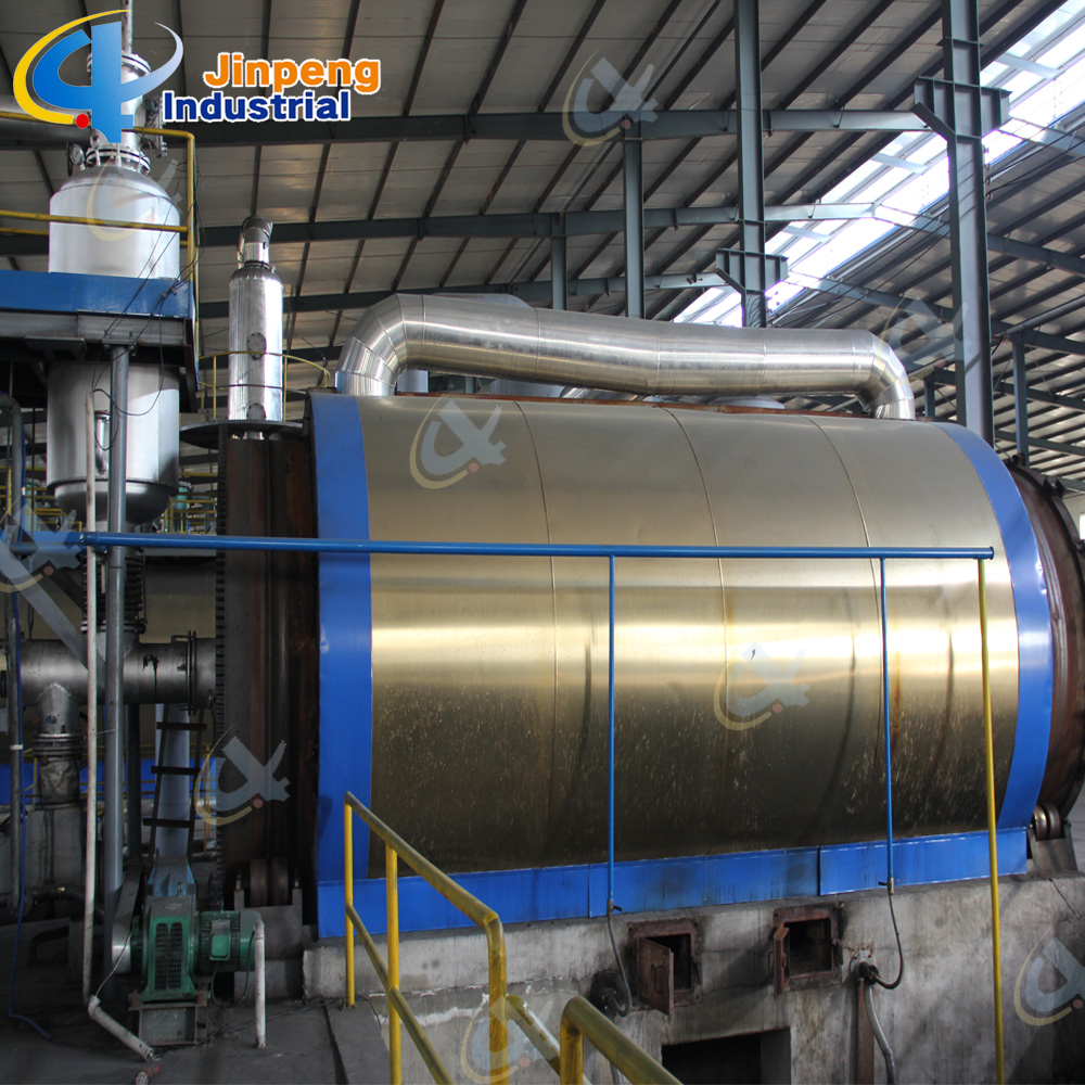 Waste Tire Pyrolysis Oil Refining Machine