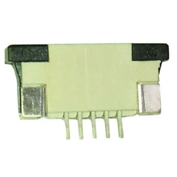 Pitch 0.8mm FPC Connector SMT Horizontal Bottom contact