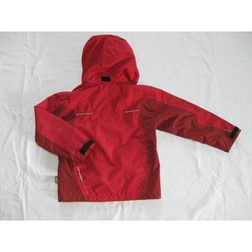 giacca softshell antivento outdoor rossa