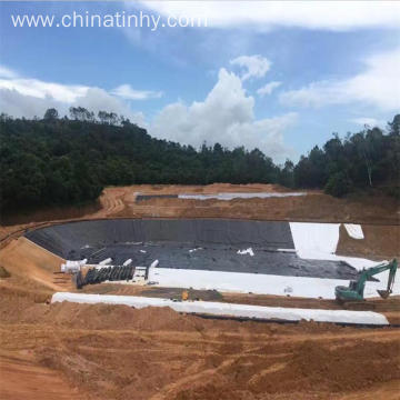 ASTM standard HDPE/LDPE/LLDPE geomembrane for Reservior