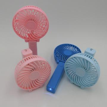 color plastic mini handheld fan