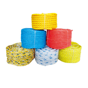 Promotion  PE twisted rope with cheaper price