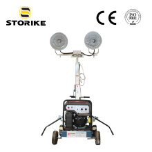 Honda Gasoline Genset Telescopic  Mobile Light Tower