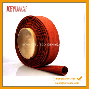 Glass Fiber Braided Fireproofing Sleeve