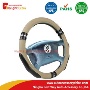 China supplier OEM for Premium Steering Wheel Covers Microfiber Leather Auto Car Steering Wheel Cover supply to France Exporter