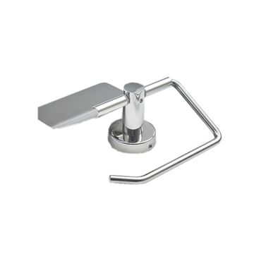 Stainless steel toilet paper holder product