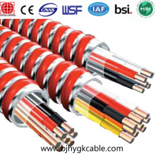 MC Cable 12AWG Aluminum Inter-locking armor cable