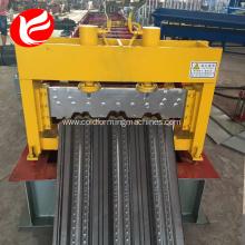 Automatic steel floor deck metal panel forming machine