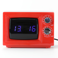 Professional for Table Digital Clock Small TV Digital Clock with Decorative Light supply to Uruguay Supplier