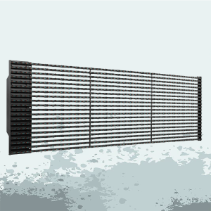 Hot selling attractive for China Led Video Curtain,Large Led Curtain Screen,Media Led Grid Display,Custom Curtain Led Display Manufacturer P25 Outdoor led video media facade screens supply to Indonesia Exporter