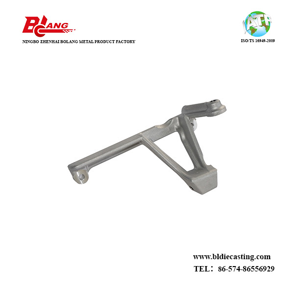 Aluminum Die Casting Heat Return Bracket