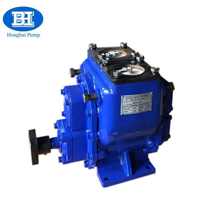 YHCB oil transfer tank truck PTO gear pump