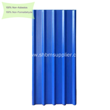 Rainproof Anti-UV Fireproof Cement MgO Roofing Sheets
