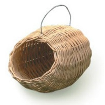 China for China Bird Houses,Hooded Bird Nest,Wood Bird House,Rattan Bird House Manufacturer Jar Shaped Rattan Bird Nest export to Poland Manufacturers