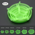 Cute washable silicone foldable lid Fresh Cover