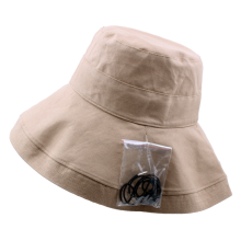 Customized for Embroidery Bucket Hat Broad Brim CottonTingle Women Fashion Bucket Hat export to Brazil Manufacturer