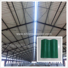 Fire Resistant Glazed Magnesium Oxide Roof Panels