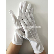 Manufacturer of for Stretch Polyester Gloves White Polyester Gloves for Marching Band supply to Greenland Wholesale