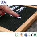 Customized design good quality felt letter board
