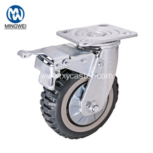 6 Inch Heavy Duty Outdoor Brake Castor