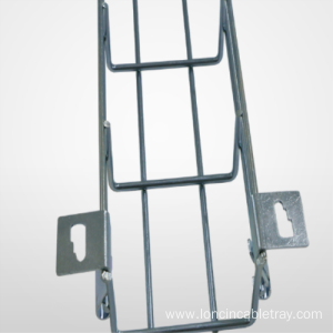 OEM Customized for Wire Cable Tray Aluminium-Alloy Wire Mesh Cable Tray with customized sizes supply to Liechtenstein Factories