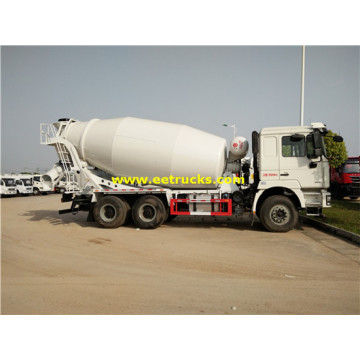 SHACMAN 336hp 12m3 Concrete Mixer Trucks
