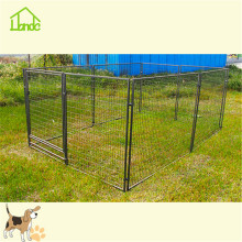 Custom indoor iron dog kennel fence