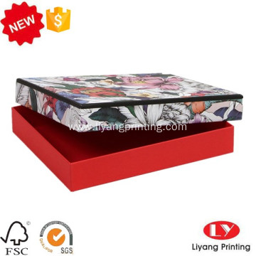 Fashion Customized cardboard scarf shirt box packaging