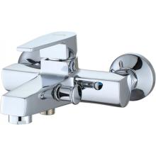 High Quality for China Stand Tub Mixer, Wall Mounted Tub Mixer, Deck Mounted Tub Mixer Factory Two Holes Wall Mounted Bathtub shower Mixer export to Indonesia Manufacturer