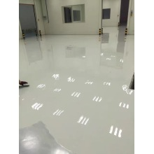 Light grey epoxy anti-static topcoat coating