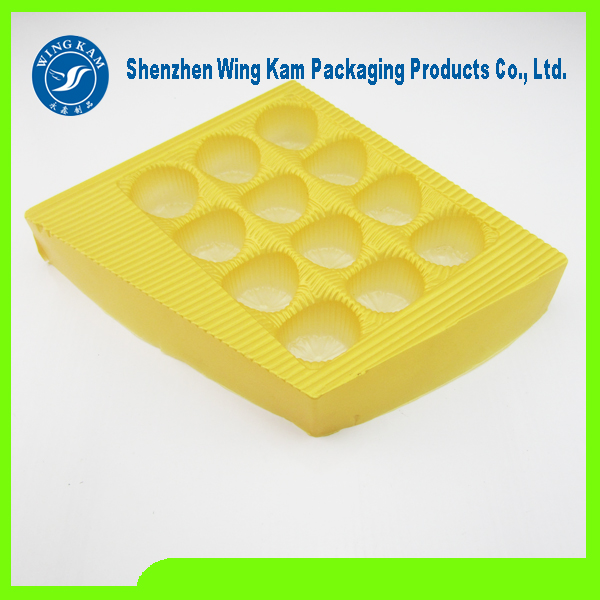 Round Cookies Plastic Packaging Tray Wholesale