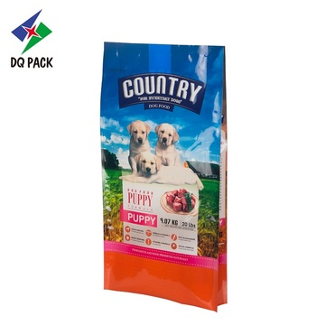 Flexible packaging plastic dog food bags