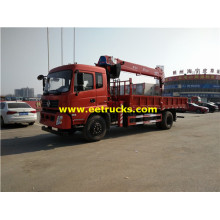 Dongfeng 5ton Truck mounted Telescopic Cranes
