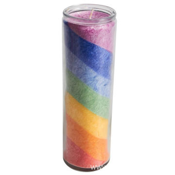 Light a candle prayer catholic 7 color candle