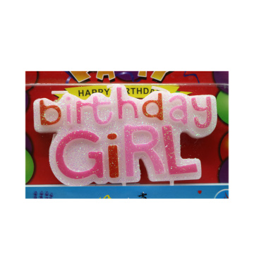 Mini Birthday Candle Letter Cake Toppers