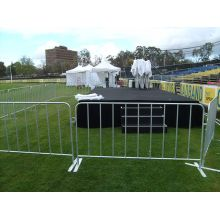 Powder painted Moveable Steel Crowd Control Barrier