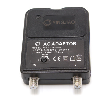 3-6W Europe Plug Switching  CATV Power Adapter