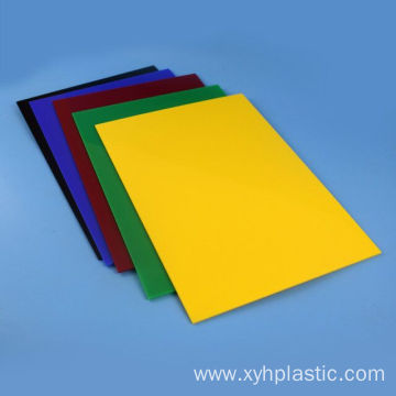 Colourful gloss acrylic sheet perspex sheet