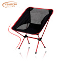 Ultralight Aluminum Frame Folding Red Color Camping Chair