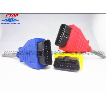High quality factory for OBD Connectors,Sae J1708 Connector,Deutsch Diagnostic Connector Manufacturers and Suppliers in China 16 PIN Female OBD Connector supply to France Suppliers