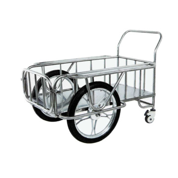 Stainless steel wagon for hospital